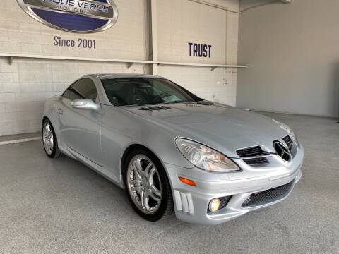 2008 Mercedes-Benz SLK for sale at TANQUE VERDE MOTORS in Tucson AZ