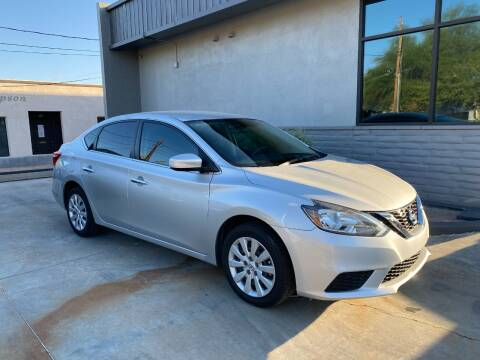 2017 Nissan Sentra for sale at TANQUE VERDE MOTORS in Tucson AZ
