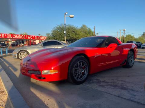 2001 Chevrolet Corvette for sale at TANQUE VERDE MOTORS in Tucson AZ