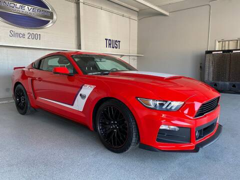2016 Ford Mustang for sale at TANQUE VERDE MOTORS in Tucson AZ