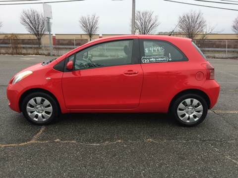 2008 Toyota Yaris for sale at D'Ambroise Auto Sales in Lowell MA