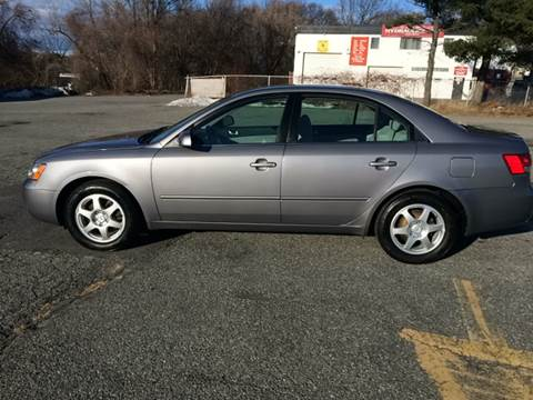 2006 Hyundai Sonata for sale at D'Ambroise Auto Sales in Lowell MA
