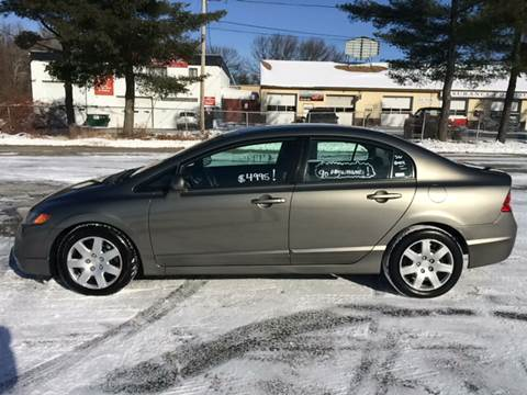 2007 Honda Civic for sale at D'Ambroise Auto Sales in Lowell MA