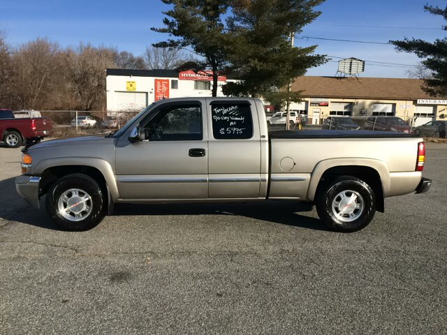 2001 GMC Sierra 1500 for sale at D'Ambroise Auto Sales in Lowell MA