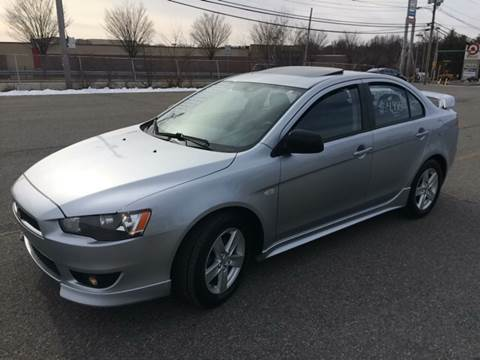 2009 Mitsubishi Lancer for sale at D'Ambroise Auto Sales in Lowell MA