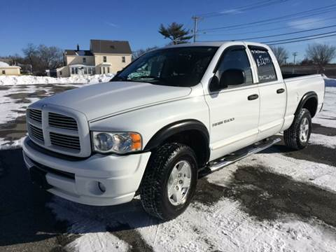2005 Dodge Ram Pickup 1500 for sale at D'Ambroise Auto Sales in Lowell MA