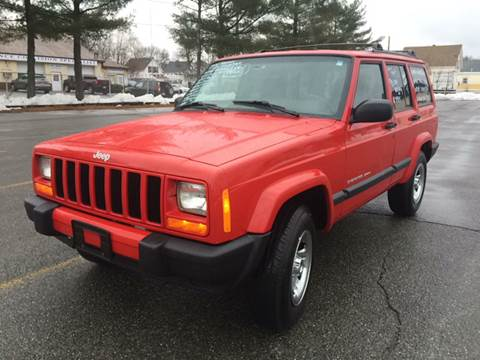 2000 Jeep Cherokee for sale at D'Ambroise Auto Sales in Lowell MA
