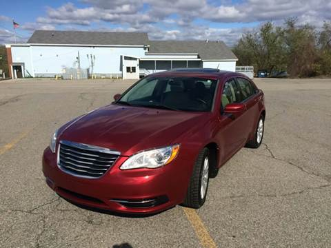 2011 Chrysler 200 for sale at D'Ambroise Auto Sales in Lowell MA