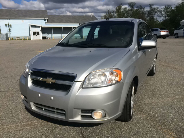 2011 Chevrolet Aveo for sale at D'Ambroise Auto Sales in Lowell MA