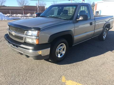 2003 Chevrolet Silverado 1500 for sale at D'Ambroise Auto Sales in Lowell MA