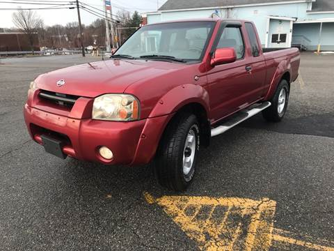 2001 Nissan Frontier for sale at D'Ambroise Auto Sales in Lowell MA