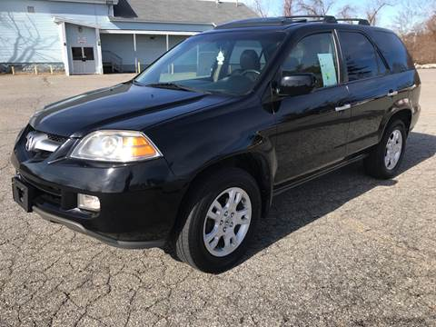 2006 Acura MDX Touring w/Navi for sale at D'Ambroise Auto Sales in Lowell MA