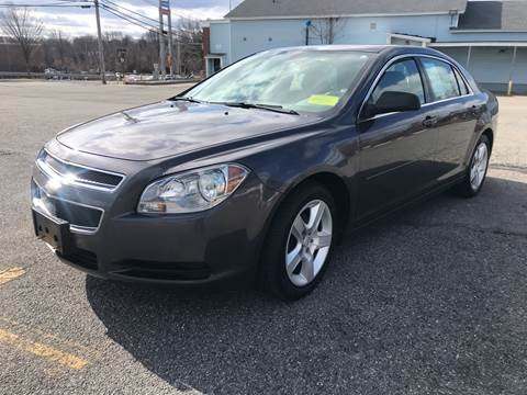 2010 Chevrolet Malibu LS for sale at D'Ambroise Auto Sales in Lowell MA