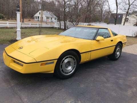 1987 Chevrolet Corvette for sale at D'Ambroise Auto Sales in Lowell MA