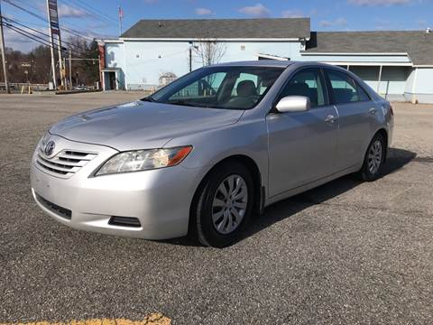 2008 Toyota Camry LE for sale at D'Ambroise Auto Sales in Lowell MA