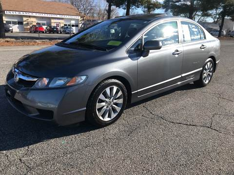 2010 Honda Civic EX for sale at D'Ambroise Auto Sales in Lowell MA