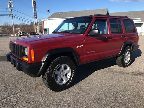 1998 Jeep Cherokee for sale at D'Ambroise Auto Sales in Lowell MA