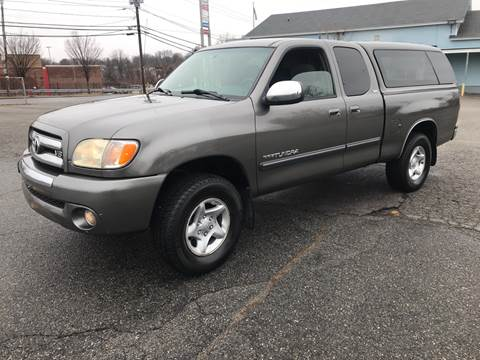 2004 Toyota Tundra for sale at D'Ambroise Auto Sales in Lowell MA