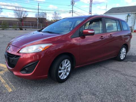 2013 Mazda MAZDA5 Sport for sale at D'Ambroise Auto Sales in Lowell MA