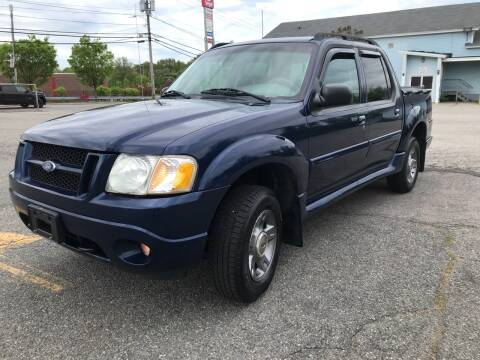 2004 Ford Explorer Sport Trac for sale at D'Ambroise Auto Sales in Lowell MA