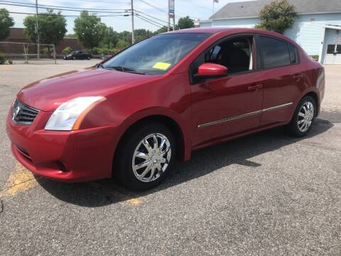 2011 Nissan Sentra for sale at D'Ambroise Auto Sales in Lowell MA