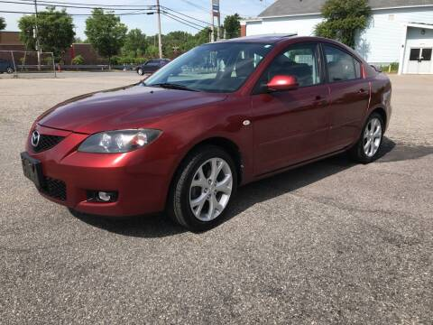 2009 Mazda MAZDA3 for sale at D'Ambroise Auto Sales in Lowell MA