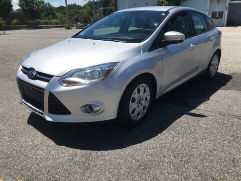 2012 Ford Focus for sale at D'Ambroise Auto Sales in Lowell MA