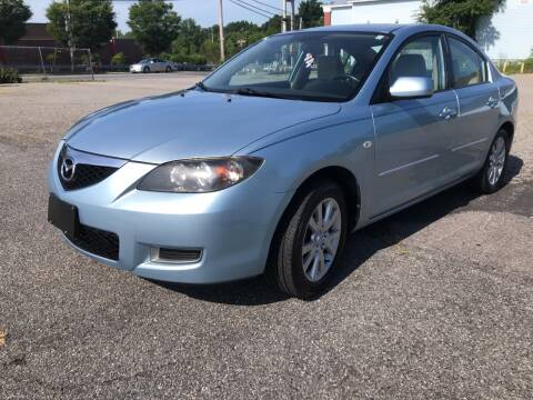 2007 Mazda MAZDA3 for sale at D'Ambroise Auto Sales in Lowell MA