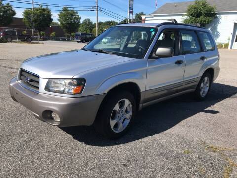 2004 Subaru Forester for sale at D'Ambroise Auto Sales in Lowell MA