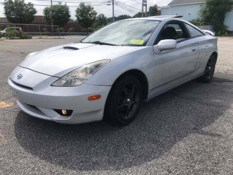2004 Toyota Celica for sale at D'Ambroise Auto Sales in Lowell MA