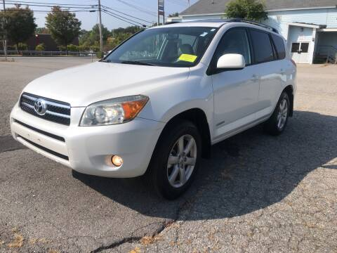2006 Toyota RAV4 for sale at D'Ambroise Auto Sales in Lowell MA