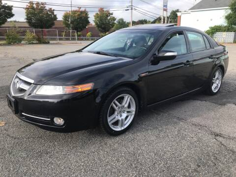 2008 Acura TL for sale at D'Ambroise Auto Sales in Lowell MA