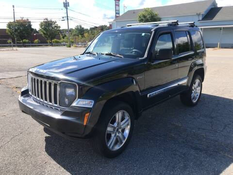 2012 Jeep Liberty for sale at D'Ambroise Auto Sales in Lowell MA
