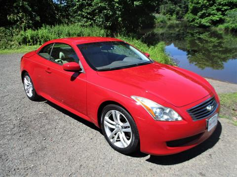 2009 Infiniti G37 Convertible for sale in Plainfield, NJ