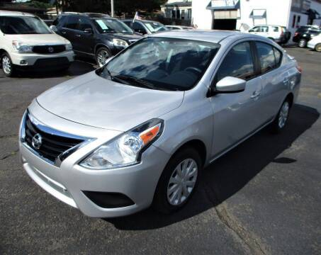 2018 Nissan Versa for sale at Exem United in Plainfield NJ