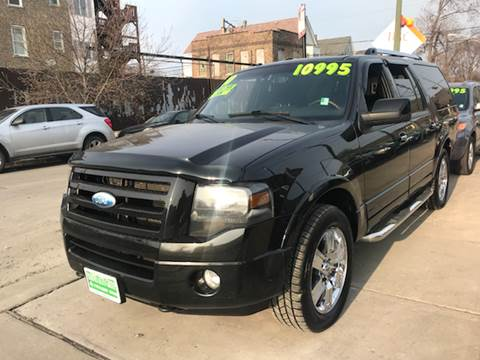 2010 Ford Expedition EL for sale at Barnes Auto Group in Chicago IL