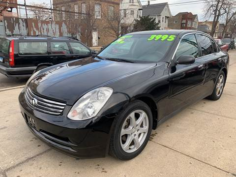2004 Infiniti G35 for sale at Barnes Auto Group in Chicago IL