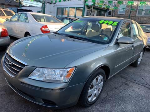 2009 Hyundai Sonata for sale at Barnes Auto Group in Chicago IL