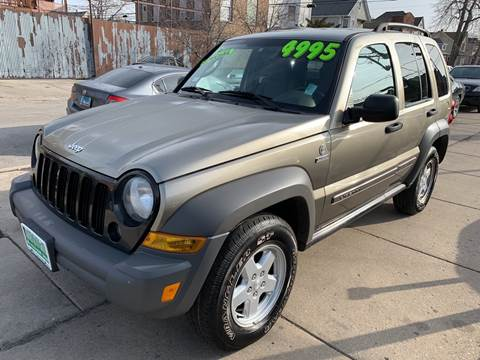 2007 Jeep Liberty for sale at Barnes Auto Group in Chicago IL