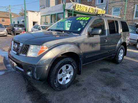 2007 Nissan Pathfinder for sale at Barnes Auto Group in Chicago IL