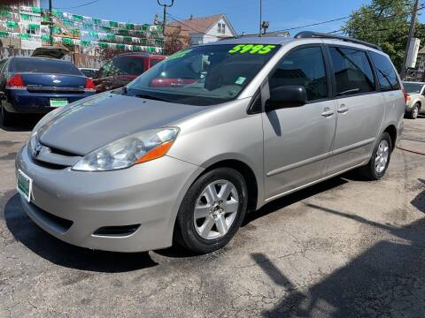 2008 Toyota Sienna for sale at Barnes Auto Group in Chicago IL