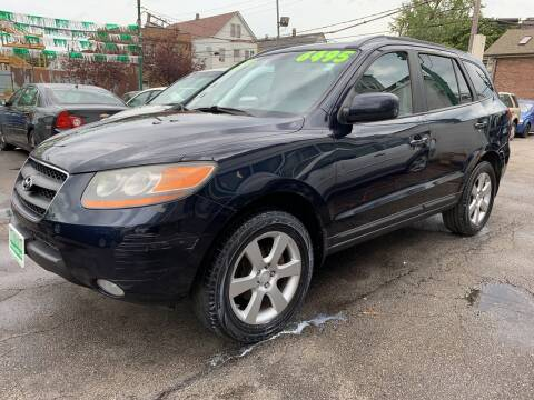 2009 Hyundai Santa Fe for sale at Barnes Auto Group in Chicago IL