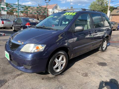 2002 Mazda MPV for sale at Barnes Auto Group in Chicago IL