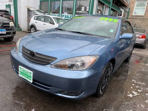 2004 Toyota Camry for sale at Barnes Auto Group in Chicago IL