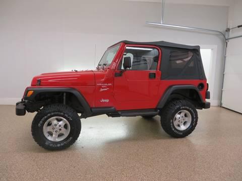 2000 Jeep Wrangler for sale in Hudsonville, MI