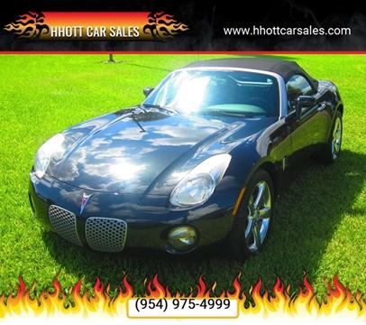 2008 Pontiac Solstice for sale in Deerfield Beach, FL