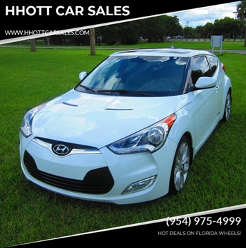 2013 Hyundai Veloster for sale in Deerfield Beach, FL