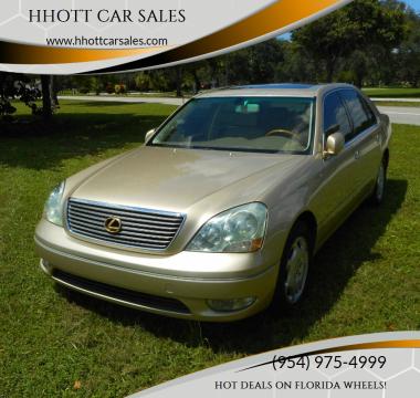 2001 Lexus LS 430 for sale at HHOTT CAR SALES in Deerfield Beach FL
