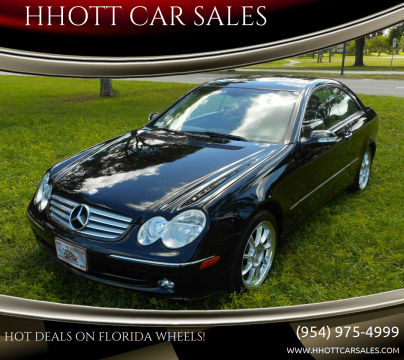 2005 Mercedes-Benz CLK for sale at HHOTT CAR SALES in Deerfield Beach FL