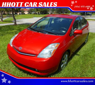 2008 Toyota Prius for sale at HHOTT CAR SALES in Deerfield Beach FL